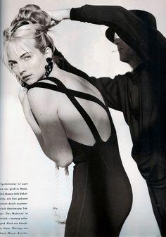 Rachel Williams German Vogue 1989