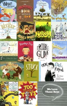 Great Picture Books With Boys