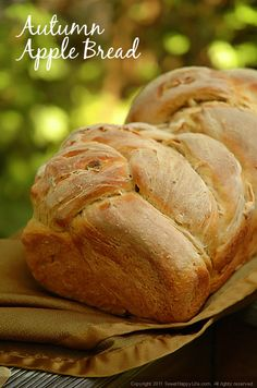 Autumn Equinox:  #Autumn #Apple #Bread, for the #Autumn #Equinox.