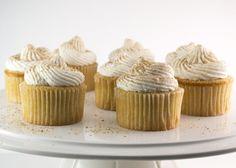 Eggnog Cupcakes with RumButtercream