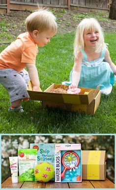 Get a surprise box of toys, books, and other goodies for your child every month! Fun gift idea!