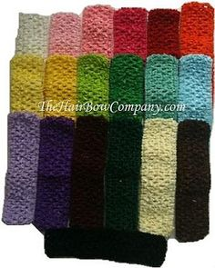 Super cheap crochet headbands!