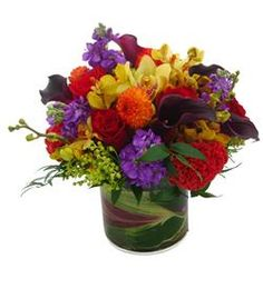 The Dakota by @Cactus Flower, modern and colorful flower arrangement, $199.99