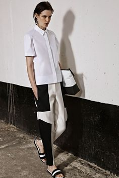fashion weeks, joseph, design detail, white shirts, 2014 rtw, womenswear design, spring 2014, london fashion, 2014 readytowear