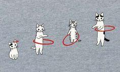 开心,但细小的地方 - pedalfar:牛逼シャツも買ってしまった(通过ポタリングキャットの猫Ŧシャツ)