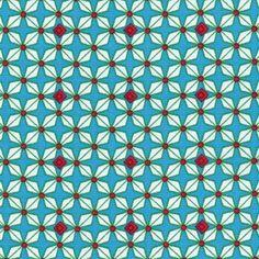 Toile de coton Hélium turquoise