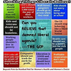Shocking Values Embraced By Liberals