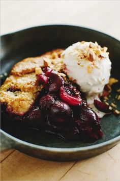 cherry galette.  sprouted kitchen