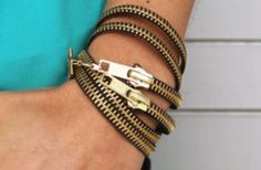 12 Cool DIY Zipper Jewelry Tutorials