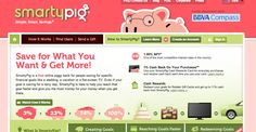 www.smartypig.com: save money toward a goal and get 1% back, also friends and family can contribute    good #honeymoon or #wedding registry idea!