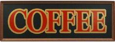 Amazon.com: Coffee Wood Sign - Coffee Horizontal: Sports & Outdoors