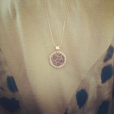 #necklace #panter #print #nice #mimoneda @mimoneda_uk_ireland - @josetteschepers- #webstagram