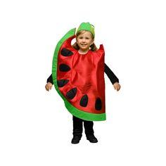 Disfraces de Niños y Bebes, disfraces de frutas. Increible Disfraz de Sandia compuesto por plancha de goma espuma en forma de sandia y gorro.