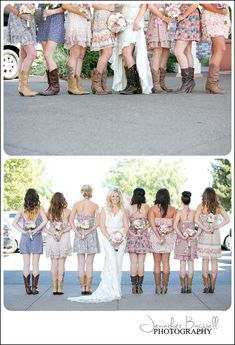 Country Chic  anything but ordinary!  {Sonoma County Wedding Photographer, Country Chic Wedding, Country Wedding, Cowboy boots with wedding dress, vintage wedding decor}