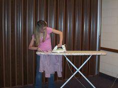 13th Ward Young Women: Homemaking Relay