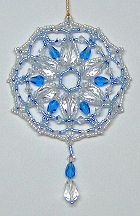 Ice Drops Ornament by Charlotte Holley - Beaded Legends by Chalaedra