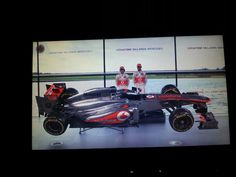 The McLaren MP428 Formula 1 car for the 2013 season.  See more on Mclaren web site.  www.mclaren.com.   This is just an image