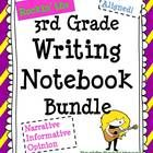PLEASE SEE THE 40 PAGE PREVIEW!  BEST SELLER ON TPT!  This year-long unit (421 pages) was designed to follow through the WRITING PROCESS and model ...
