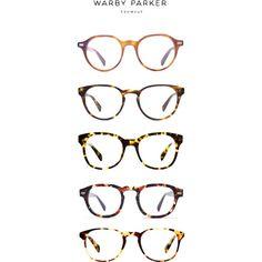 Warby Parker designer glasses... All frames $95 (including prescription lenses!)