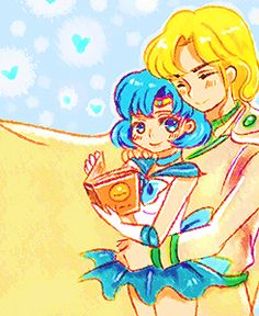 sailor mercury and zoisite  Ami and Zoisite V