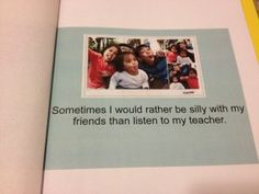 How to use social stories in the classroom for positive behavior management