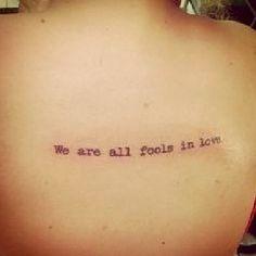 Pride and Prejudice by Jane Austen | 23 Epic Literary Love Tattoos