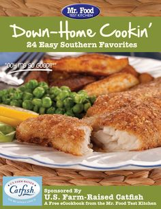 Down-Home Cookin': 24 Easy Southern Favorites Free eCookbook - We've teamed up with @U.S. Farm-Raised Catfish for a variety of catfish and classic southern recipes you're sure to love.