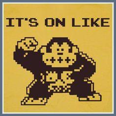 It's on like Donkey Kong! game poster, retro video games, vintage tees, donkeys, vintage video games, t shirts, funni peep, geek shirts, donkey kong