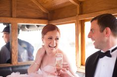 Cheers to the Bride and Groom!