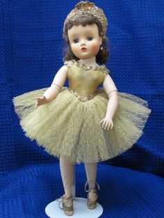Vintage 1959 Madame Alexander Elise Ballerina doll. Mine had blonde hair and my older sister had the brunette.