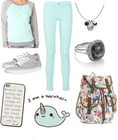 """""""Casual School Outfit #3"""" by eatdreamonedirection ❤ liked on Polyvore"""