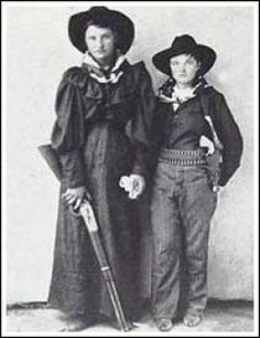 Cattle Annie and Little Britches have been mostly forgotten in the annals of western history, but not in the Oklahoma and Indian Territories. There, they were two of the most famous female outlaws ever to strap on a six gun.  They were a cattle thieving couple from the Indian Nation of Oklahoma who only flourished for a couple of years before being caught.