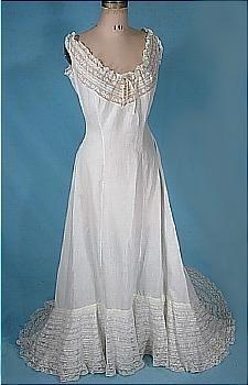 full petticoat, 1905