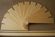 American Beadboard Kit Consists of 12 Beadboard Panels, a Top Cap molding and a Base Molding
