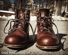 15 Handmade Leather Goods for Every Kind of Guy | Man Made DIY | Crafts for Men | Keywords: leather, boots, clothing, fashion Fashion, Style, Diy Crafts, Footwear, Leather Boots, Wolverines, Accessories, Winter Boots, Shoe