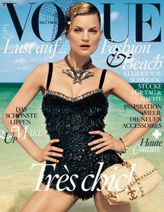 Vogue Alemania / Guinevere van Seenus por Knoepfel & Indlekofer. May 2012