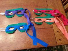 Teenage Mutant Ninja Turtles TMNT Mask by OhSoCuteBowsByDenise, $5.00