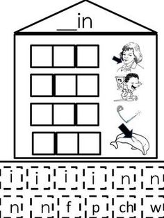 This is a word building activity that allows students to discover the Patterns in words. It will build a student's word decoding strategy - chunkin... short, literaci, school, kindergarten word families, at word families, at word family activities, word work, teach, family words