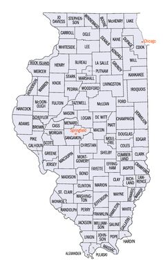 Illinois Map for Pumpkin Patches, Corn Mazes, Hayrides and More!