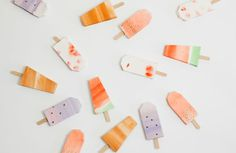 Paper Popsicles