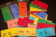 Alphabet cards. What comes next?