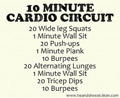 10 minute cardio, circuit workout no equipment, fitness workouts, minut cardio, cardio circuit, quick cardio workouts at home, health, hiit cardio workouts, quick circuit workout