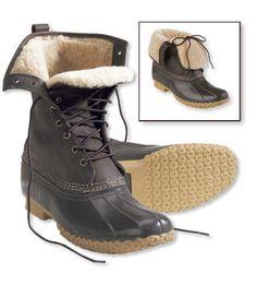 LL Bean Bean Boots.