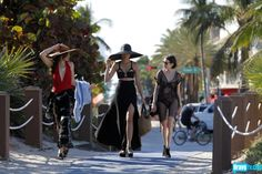 Angela Pham, Chantal Chadwick, Claudia Martinez Reardon, head for the beach. Obvs.