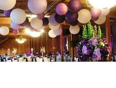 Paper Lanterns.. Wedding Reception Decorations