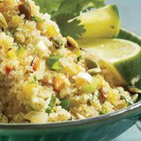 Quinoa with Latin Flavors-Grain Recipes - Delish.com