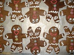 Decorate Gingy cookies