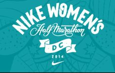 Nike women's half marathon  Washington DC April 2014