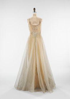 """Elizabeth Hawes """"Women in Love"""" dress 1938"""