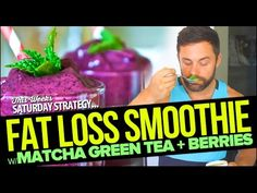 Fat Loss Juice Recipe with Matcha Green Tea   fitlife.tv